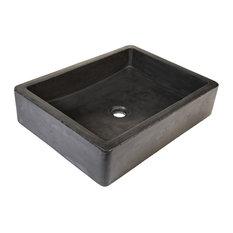 Nipomo Bathroom Sink, Slate