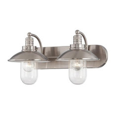 industrial bathroom vanity lights houzz - Bathroom Vanity Lighting