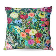 """""""Into the Depths"""" Outdoor Pillow"""