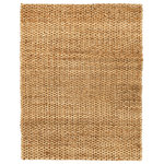 Anji Mountain - Cira Jute Area Rug, 8'x10' - Weave a natural look into your space with the floor-protecting powers of the Cira Jute Area Rug. This handmade and versatile piece from MOD is right at home in coastal cottages, urban apartments and casual lounges alike. The MOD brand is dedicated to updating traditional designs for the modern home, and this natural-look rug is a spot-on representation of that ideal.