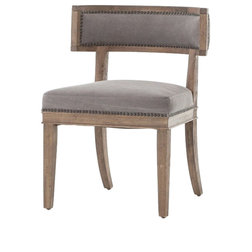 Transitional Dining Chairs by Seldens Furniture