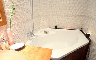 10 jolies baignoires pour tirer parti d'une petite salle de bains