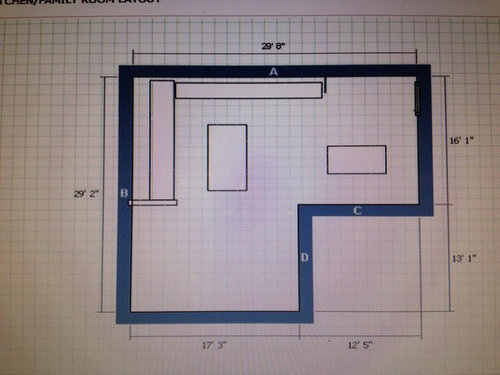 Furniture Layout In Open Floor Plan