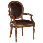 Orleans Arm Chair Black Dining Chairs By High Fashion Home