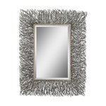 Uttermost Vermundo Wood Mirror Rustic Wall Mirrors