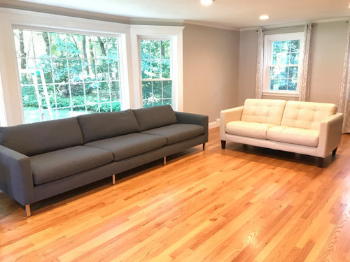 Cool Help Me Marry My Modern Gray Sofa To My Transitional Ish Download Free Architecture Designs Scobabritishbridgeorg