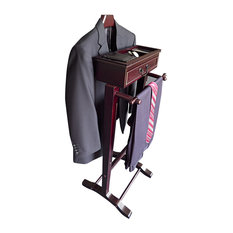 Proman Products - Bombay Wardrobe Valet With Contour Hanger - Clothing Valets and Suit Stands