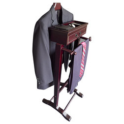 Transitional Clothing Valets And Suit Stands by Proman Products