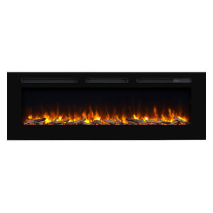 Real Flame Chateau Electric Corner Fireplace In Dark Walnut Finish Traditional Indoor