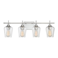 Savoy House   Savoy House Octave Lighting Fixture, Polished Chrome   Bathroom  Vanity Lighting