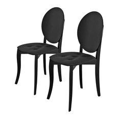 Antonietta Dining Chairs, Set of 2, Black