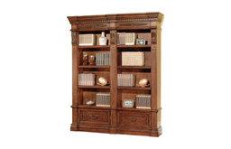 Grand Manor Granada Set Museum Bookcase, 2-Piece Set