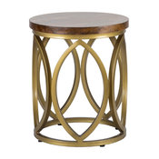 "Gemma 20"" Round End Table by Kosas Home"