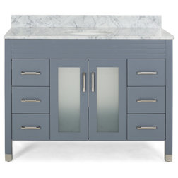 Contemporary Bathroom Vanities And Sink Consoles by GDFStudio