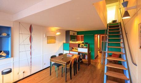 Wie ein Architekt eine Wohnung im Geiste Corbusiers vollendete