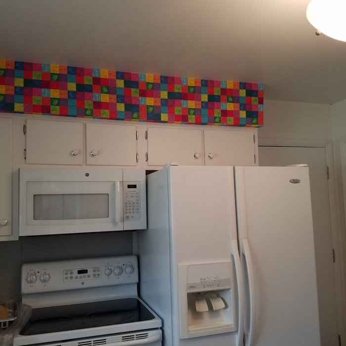 Removal & Install: Kitchen Soffit Transformed