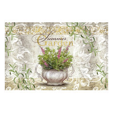 Summer Garden Gallery Door Mat, Small