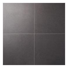 """Technique 24""""x24"""" Matte Porcelain Floor and Wall Tile, Gray"""