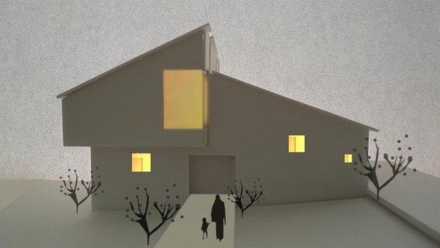 モダン 外観の立面図 by atelier KUKKA architects