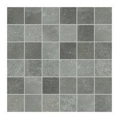 Maps Porcelain Mosaic Tile, Matte Graphite 300x300, 15 Boxes