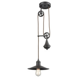 Industrial Pendant Lighting by HedgeApple