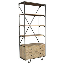Industrial Bookcases by Taran Design