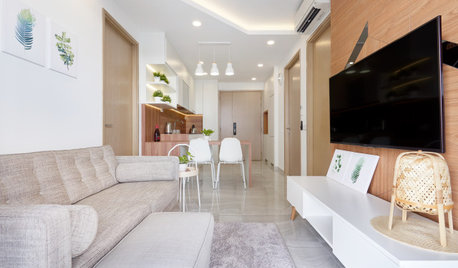 Houzz Tour: Compact Condo Looks More Spacious With its Muji Style