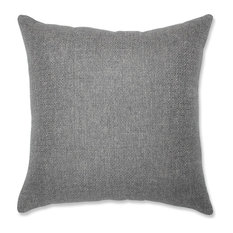 "Pillow Perfect Sonoma Pewter 16.5"" Throw Pillow"