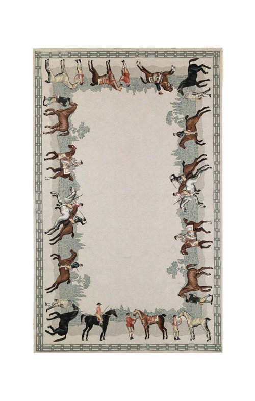 Need To Find Area Rug With Equestrian Theme