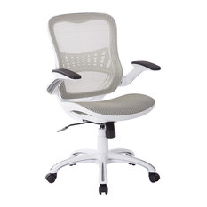 industrial office chairs ave six riley office chair with breathable mesh seat amp back white mesh bedroomformalbeauteous office depot mesh desk chairs home