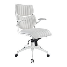 luxury office chair. modway modern style luxury midback office chair white chairs