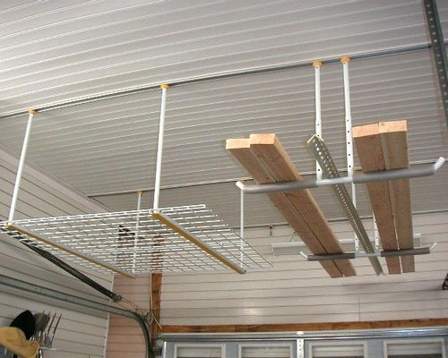Garage Ceiling Storage Hoists Hooks And Hangers By