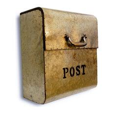 Exceptionnel NACH   NACH CJ Metal Mailbox, Metallic Gold   Mailboxes