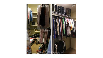 Closets - Before & After Photos