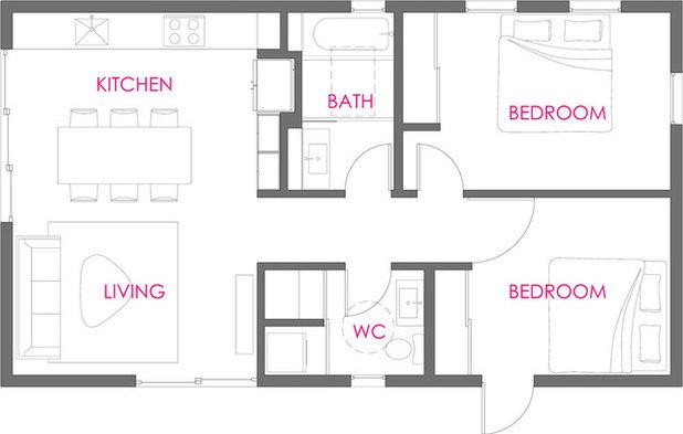 Floor Plan Houzz Tour: Additional Dwelling Unit LA