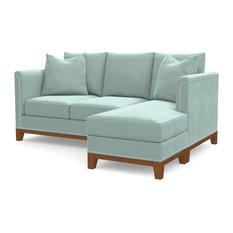 La Brea Reversible Chaise Sofa, Sky