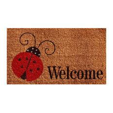 "Ladybug Welcome Doormat, 24""x36"""