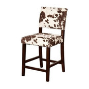 "Bowery Hill 24"" Counter Stool in Udder Madness Brown"
