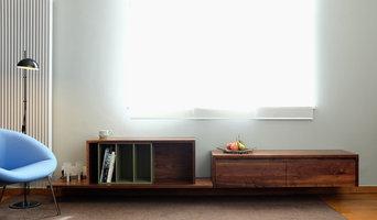 Rectory Road Livingroom Storage and Study
