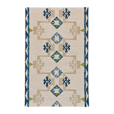 Feizy Fariza Rug, Blue and Natural, 8'x11'