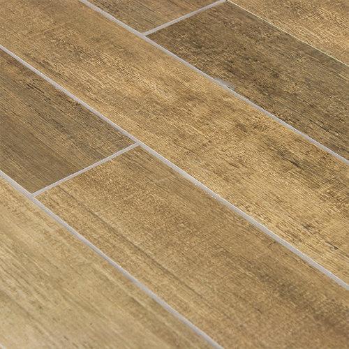 Barrique Vert Wood Plank Porcelain Tile - Wall And Floor Tile - Wood Plank Porcelain Tile