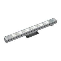 Spike 100 Linear Proj LED 48W 30K 28Deg Silver 24Vdc
