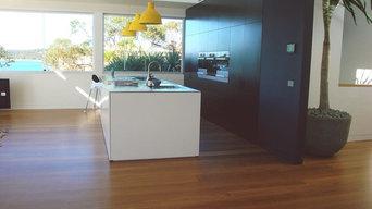 Beautiful Tallowwood floors + Decking