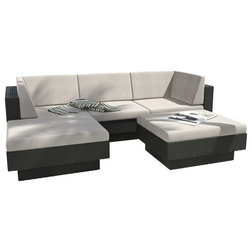 tropical outdoor lounge sets by corliving