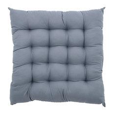 Padded Seat Cushion, Light Denim