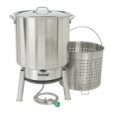 Bayou Classic 82 qt. Stainless Steel Crawfish Cooker Kit