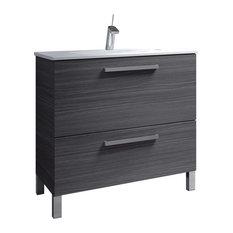Urban 80 Bathroom Vanity Unit, 80x45 cm, Ash Grey