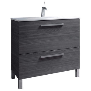 Urban 80 Bathroom Vanity Unit, 80x45 cm, Ash Grey