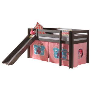 Pino Mid Sleeper Combination Set, Castle, Slide