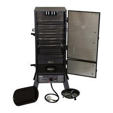 """Propane Smoker - 2-Door - Built-in Temperature Gauge, 30"""""""